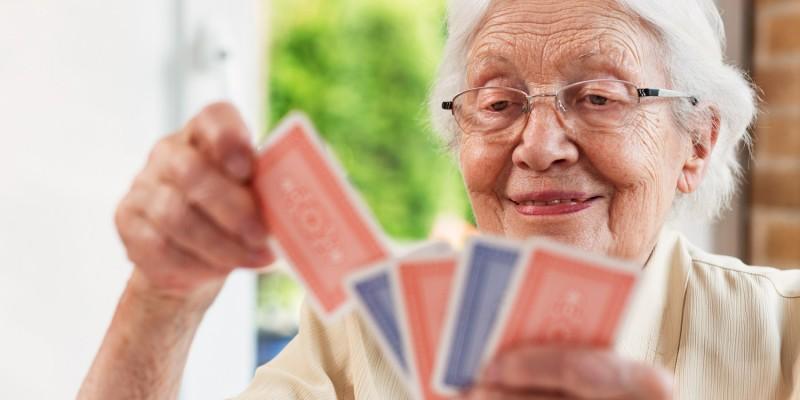 Kartenspiele trainieren die geistige Fitness