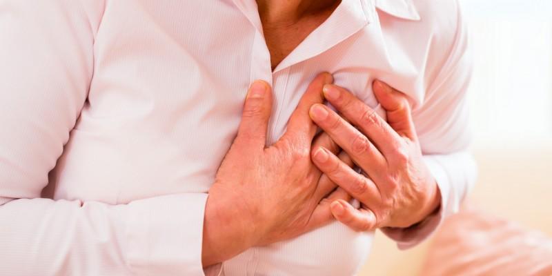 Schmerzen in der Herzgegend