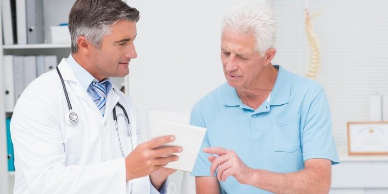 Besuch beim Orthopäden