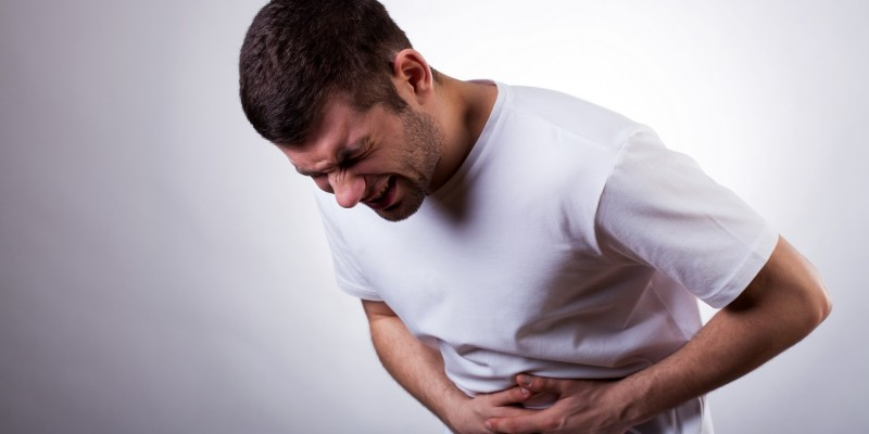 Schmerzen in der Bauchgegend