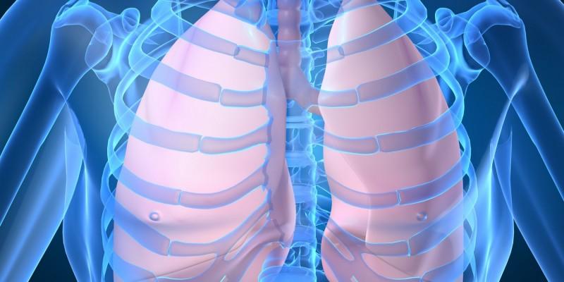 Untersuchung der Lunge
