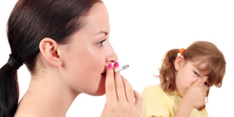Eltern sollten eine rauchfreie Umgebung schaffen