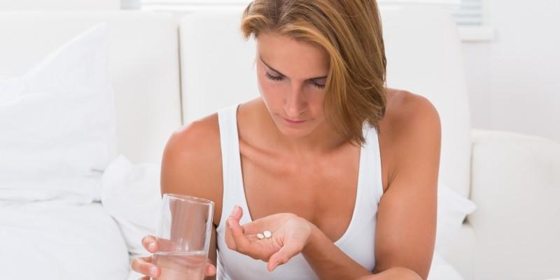 Bei Migräne werden verschiedene Medikamente verabreicht