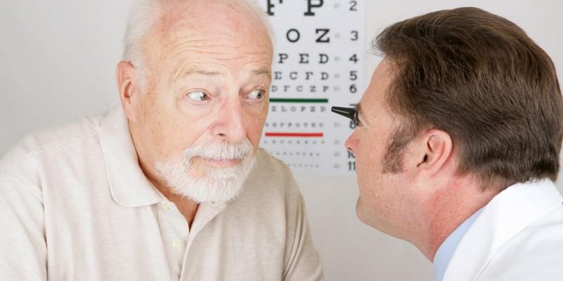 Untersuchung durch den Augenarzt