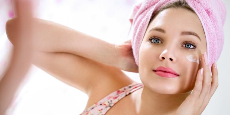 Pflege der Gesichtshaut