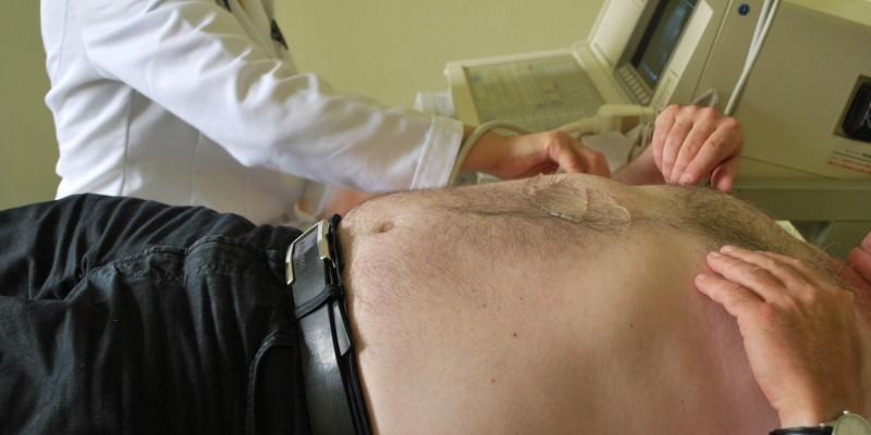 Ultraschalluntersuchung beim Arzt