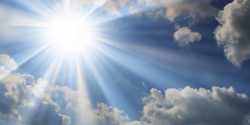 Die Sonnenstrahlen sorgen für eine Hautreaktion
