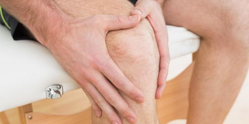 Das betroffene Knie muss geschont werden