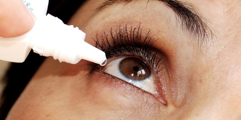Augentropfen zur Behandlung
