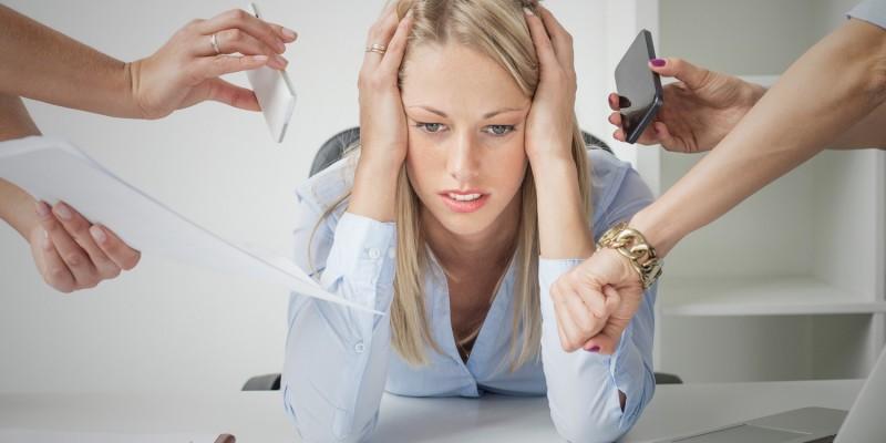 Die Leistungsfähigkeit leidet unter dem Stress