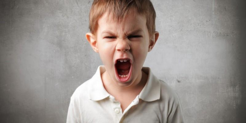 Wutausbrüche sind auch bei Kindern keine Seltenheit