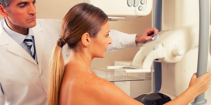 Mammographie beim Frauenarzt