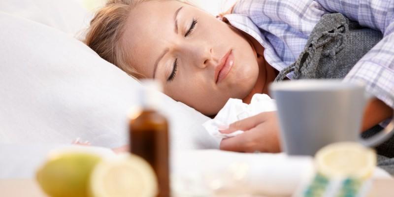 Infekte sind häufig von Nachtschweiß begleitet