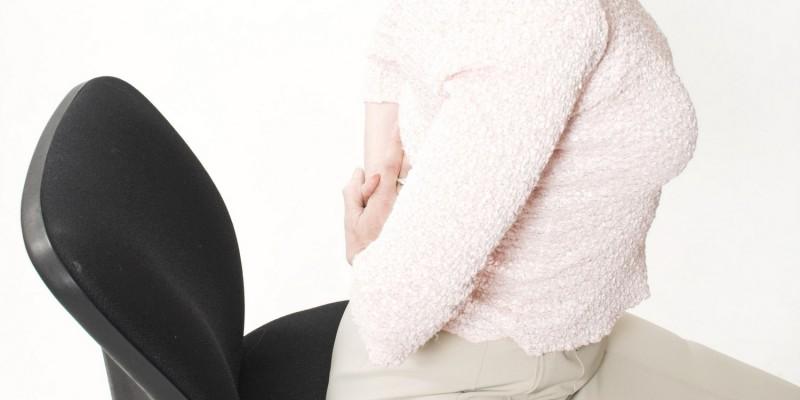 Taubheitsgefühl durch falsche Sitzposition