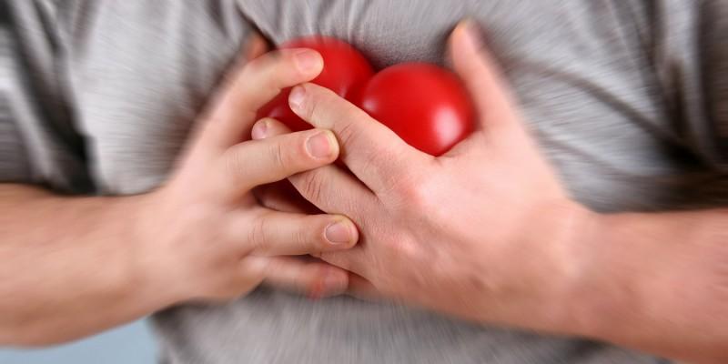 Bei starker Unruhe kann auch Herzrasen auftreten