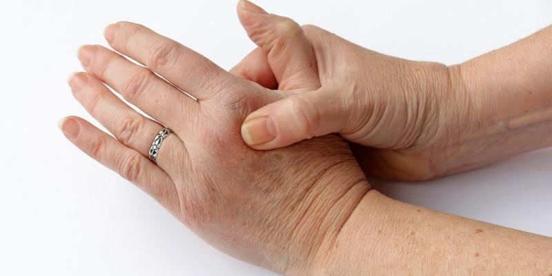 Gicht in den Fingern