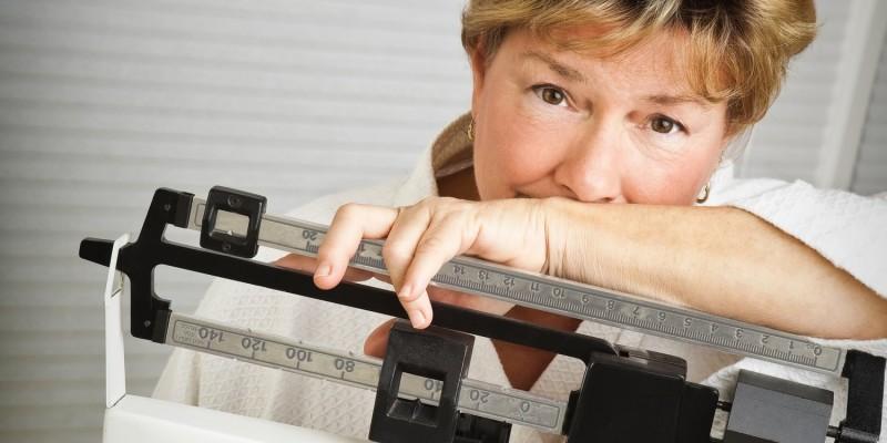 Der Körper bringt immer mehr Gewicht auf die Waage