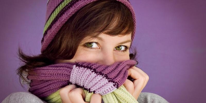 Die Heiserkeit tritt meist bei einer Erkältung auf
