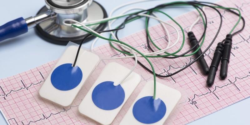 Elektroden für ein EKG