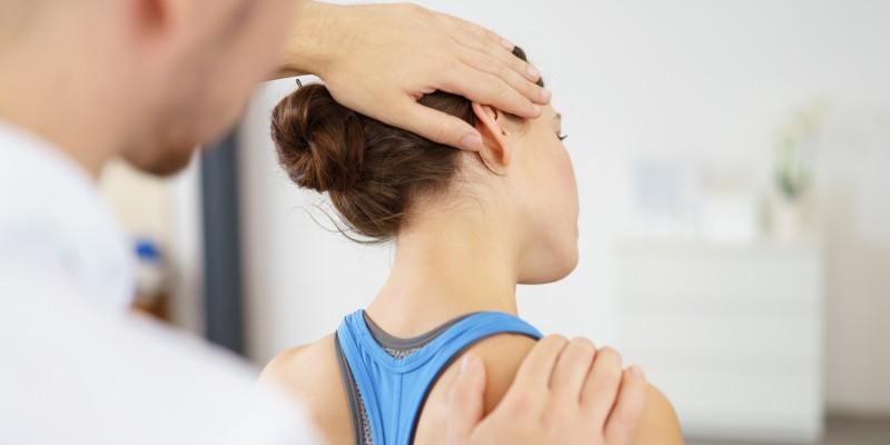 Physiotherapie wegen Nackenschmerzen