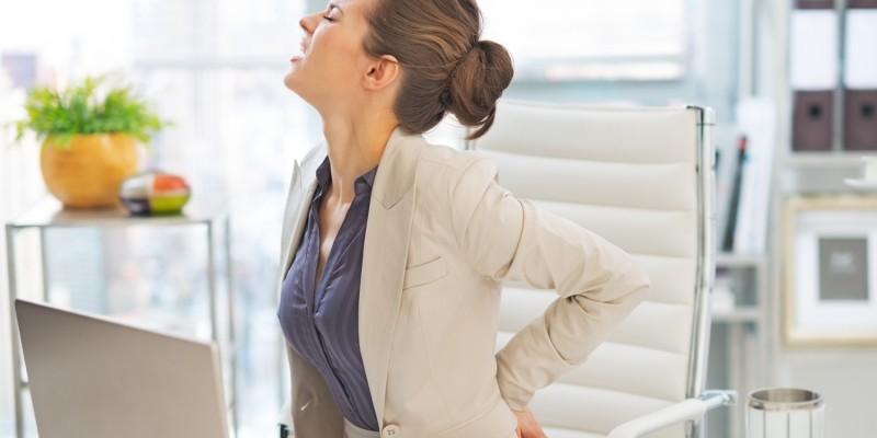 Rückenschmerzen sind ein häufiges Krankheitssymptom