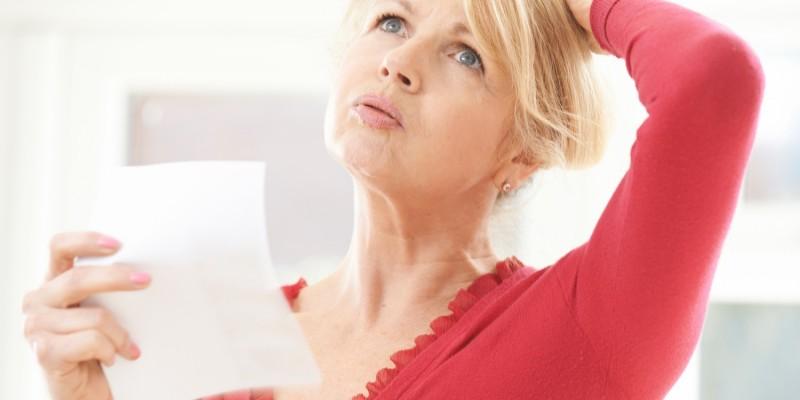 Für Schweißausbrüche sind nicht selten die Hormone schuld